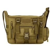 Nylon Messenger Shoulder Bag Military Tactical Camping Briefcase Laptop Case