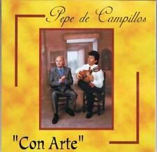 Pepe de Campillos - Con Arte - CD ACM 2000