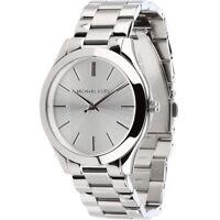 MICHAEL KORS MK3178 Runway Silver Tone Dial Stainless Steel Ladies Wrist Watch