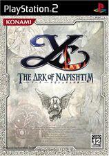 UsedGame PS2 Ys The Ark of Napishtim [Japan Import] FreeShipping