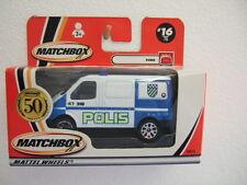 Matchbox MB16 (MW-431) FORD TRANSIT  > POLIS <  with 50th logo
