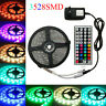 5M 1M 3528 RGB 300 Led SMD Flexible Light Strip Lamp 44 key +12V Power 2M 3M