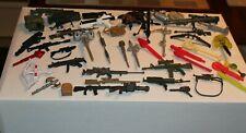 Mixed Lot of Vintage Weapons & Accessories MOTU GI Joe Star Wars + guns LT23