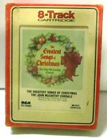 VTG - 8 Track Tape UNTESTED AS IS -The Greatest Songs Of Christmas John McCarthy