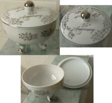 Norcrest Fine Chatillon Porcelain 25th Anniversary covered dish / bowl Ab-130