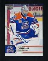 2017-18 17-18 UD Upper Deck AHL Hockey Base #23 Nick Ellis
