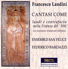 Cantasi Come / Francesco LANDINI / (1 CD) / NEUF