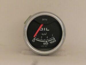 Oil Pressure Gauge 52mm NOS Smiths Brand Fits MG Triumph Austin Healey  BP2213/0