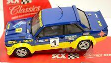 SCX 62970 SEAT Fiat 131 Abarth Classics Series Rally Racing 1/32 Scale Slot Car