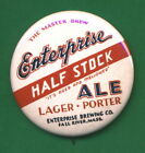 Enterprise STYLE  Brewing RP *PIN* Fall River Mass Beer Tray Half Stock