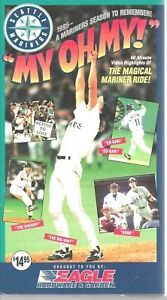 Seattle Mariners 1995 Video Year To Remember VHS Tape Eagle Hardware