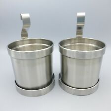 New listing Ikea Grundtal Stainless Steel Hanging Flatware Caddy Storage Containers 18612