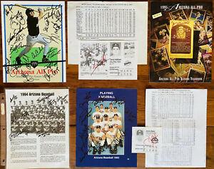 Arizona Wildcats Baseball COLLEGE WORLD SERIES !50! Signatures Signed HOF *LOOK*