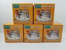 GREMLINS 2 - GEORAMA PUZZLE 5X STATUES FULL SET RESIN FIGURES JAPAN JUN PLANNING