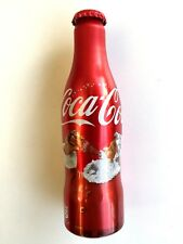 2 Coca cola bottles Christmas& Taste the feeling aluminum rare special
