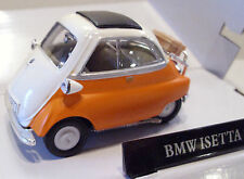 CARARAMA 4-12370 BMW Isetta 250 Bubble Car Orange 1/43 Scale New Boxed T48 Post