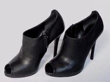 NEW RALPH LAUREN Ladies JASSIE Black Leather Shoe Boot UK 6.5 EU 39 US 9 £545
