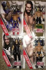 WWE Then Now Forever 4 Figure Set Undertaker Rollins Jericho Sin Cara NEW MOC