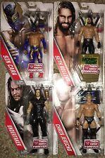 WWE Then Now Forever 4 Figure Set Undertaker Rollins Jericho Sin Cara NEW MOC