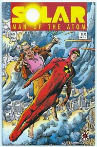SOLAR MAN OF THE ATOM #3 1991 NMMT 9.8 BWS Art 1st App TOYO HARADA HARBINGER B/O