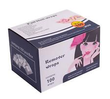 Foil Acrylic Nail Remover Wraps, Box of 100