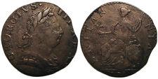 UK 1775 George III Non-Regal Halfpenny