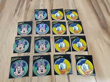Lot of 15 Vintage Disney Pins Buttons Fashion Beauty Donald Duck Minnie Mouse