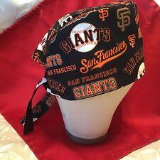 Men/Women San Francisco Giants Surgical Scrub Cap (Lined)