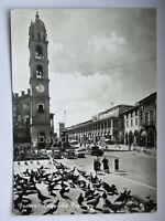 FAENZA Piazza del Popolo animata Ravenna vecchia cartolina
