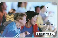 Télécarte carte téléphonique France Telecom A qui parlerez-vous aujourd'hui