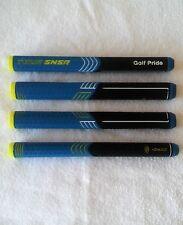 (1pc) Putter Grip Golf Pride Tour SNSR 104cc Straight Blue Midsize Non Taper