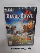 BLOOD BOWL II 2 - PC - NUOVO SIGILLATO NEW - DISPONIBILE