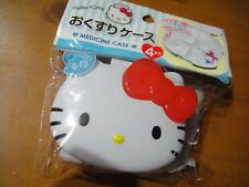 Sanrio Hello Kitty Pill & Medicine case Storage W 85 X H 72 X D 28 mm cute Kawai