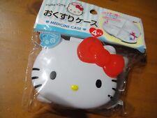 Sanrio Hello Kitty Pill & Medicine case Storage W 85 X H 72 X D 28 mm cute Kawai