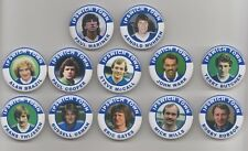 IPSWICH TOWN  FC LEGENDS  BADGES  X 12