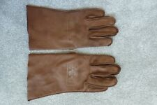 MIDWAY FILM PROP WW2 US NAVY USN PILOT EARLY PATTERN LEATHER FLIGHT GLOVES