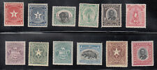 Liberia # O1-12 MINT Complete 1892 Officials Fauna Elephant Hippo