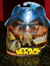 CHEWBACCA WOOKIE RAGE STAR WARS FACTORY SEALED! 2005 # 5 ROTS HASBRO