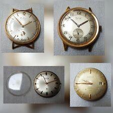 4 x Vintage Watches Enicar Ultrasonic Ogival Vetta 320 Exactus