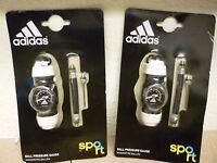 NEW Adidas Performance Ball Pressure AIR Gauge, Black/white,1 or 2pack SALE