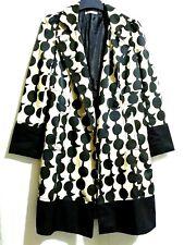 DVF Beige And Black Coat