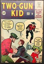 TW0-GUN KID #62 1963 VG/FN NICE BOOK,2 KID STORIES ,MOOSE MORGAN,LEE/KIRBY