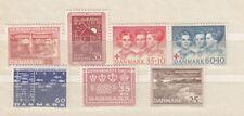 Danimarca/Denmark 1964 annata completa 7 V Mnh