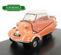 BNIB OO GAUGE OXFORD 1:76 76MBC003 MESSERSCHMITT KR200 BUBBLE CAR ROSE