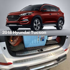Outer REAR BUMPER COVER PROTECTION TRIM For 2015-2018 Hyundai Tucson