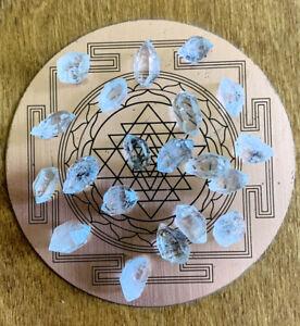 HERKIMER DIAMOND RARE HIGH QUALITY SPECIMEN GENUINE NATURAL COLOUR AAA+ FREE BAG