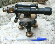ancien petit théodolite r. reiss liebenwerda (  lunette de géomètre niveau  )