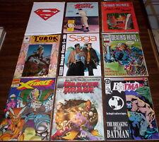 Big Huge Comic Book Collection Lot vintage 100+ comics Dc Marvel & indie books