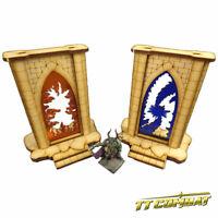 TTCombat - Fantasy Scenics - Minor Riftgate Set (Blue and Orange)