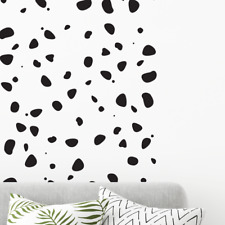 150 POLKA DOTS  wall decal stickers Dalmatian Print Bedroom nursery interior
